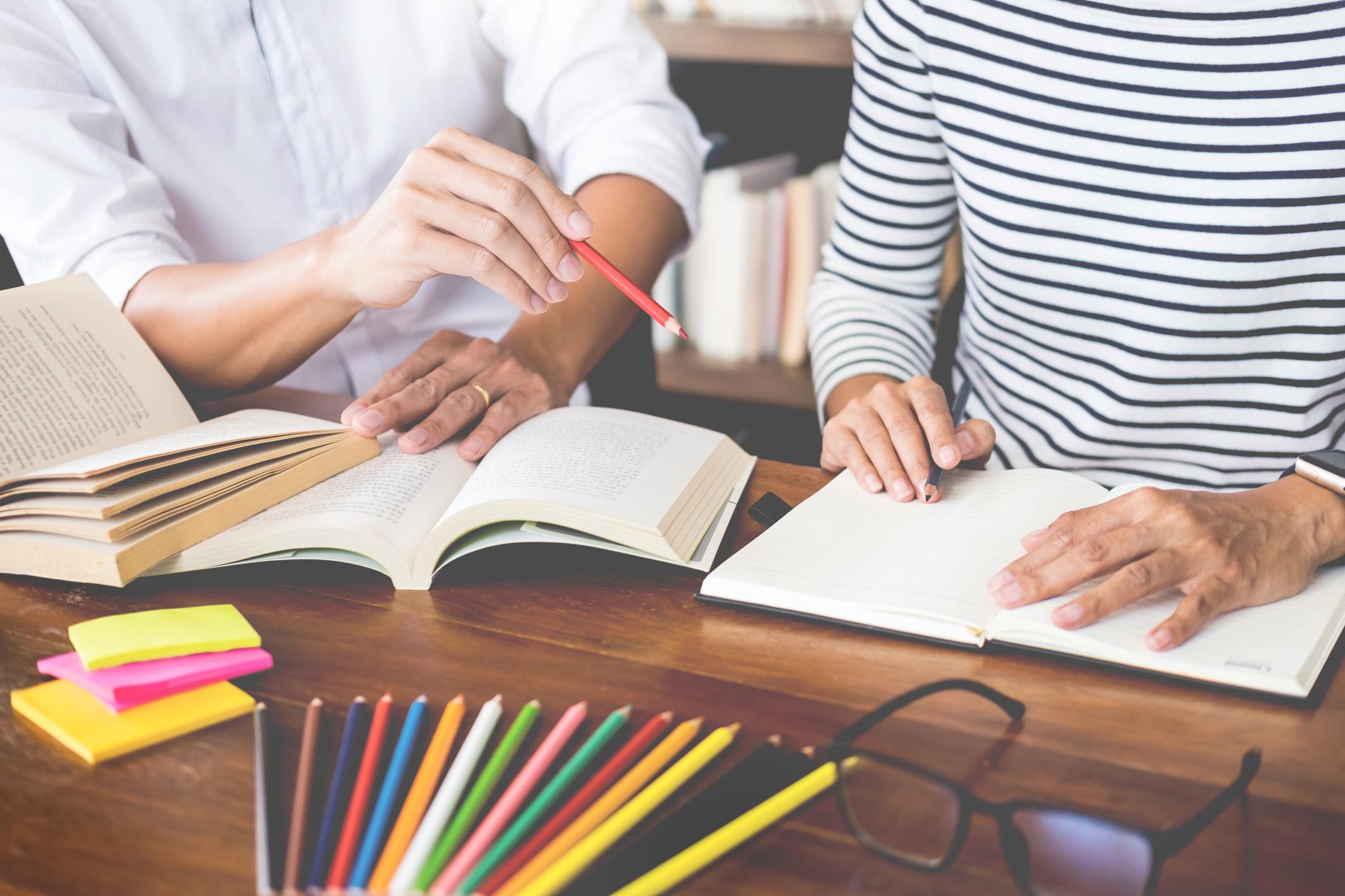 Writing tutors
