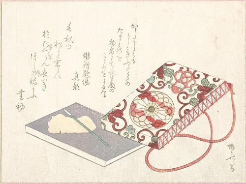illustration of Japanese book